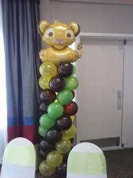 Lion King Balloon Column