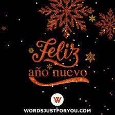 Feliz Año Nuevo: Happy New Year In Spanish Gif | WordsJustForYou.COM