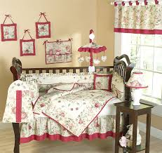 country rose western cowgirl baby nursery theme 9 piece crib set