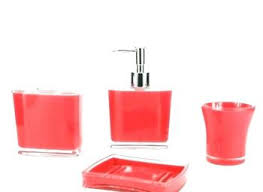 red glass bathroom accessories. Red Glass Bathroom Accessories Uk Color Ideas Com Bath Sets Red Glass Bathroom Accessories T