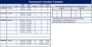 6 Team Schedule Maker The Newninthprecinct