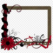 Red Photo Frames Picture Frames Photography Mat Red Frame Png Download 1500 1500