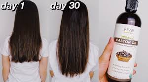 30 days of castor oil for hair growth