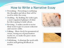 elements of a narrative essay ppt video online  6 how to write