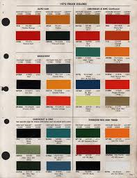 Chevy Truck Color Codes Wiring Diagrams