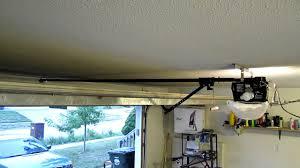 Chamberlain 3/4 hp Whisper drive garage opener problem - YouTube