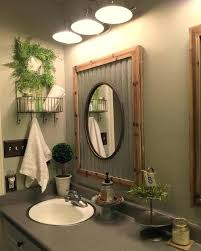 tin walls in bathroom corrugated