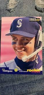 Alex Rodriguez rookie card - Sports ...