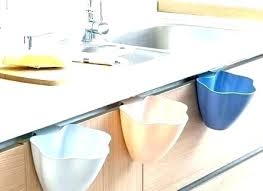 countertop garbage can trash chute trash can bin mini brushed stainless steel garbage chute with lid