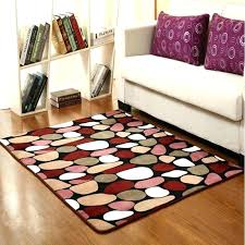 small throw rugs with rubber backing inexpensive large area rug dark purple