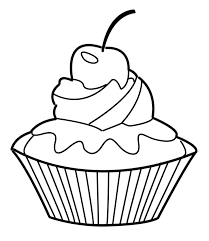 Small Picture Cupcake Coloring Pages GetColoringPagescom