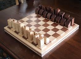 Handmade Wooden Board Games Amazing Unique Handmade Wooden Chess Set WoodworkingProjectsChessboard