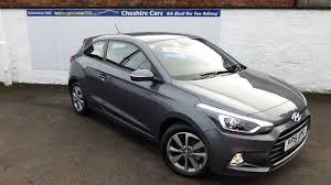 hyundai i20 se 3 door 2018 9500 miles free uk delivery cheshire cars