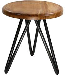short wooden stool. Wonderful Short Short Metal And Wood Stool Image In Wooden R