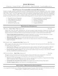 Cool Head Teller Resume Images Documentation Template Example