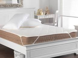 Seconds Bedroom Furniture Wool Filled Cotton Cover Mattress Protector Slight Seconds