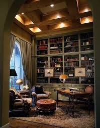 elegant home. Elegant Home Library With Beautiful Traditional Decor V