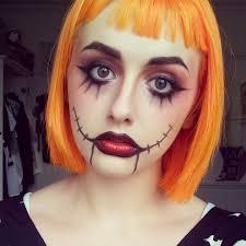 makeup by mak sally nightmare before makeup look