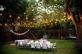 diy outdoor wedding lighting. Image Of: Outdoor Lighting Strings Ideas For Backyard Diy Wedding G