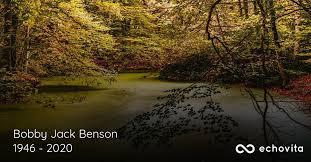 Bobby Jack Benson Obituary (1946 - 2020)   Madisonville, Tennessee