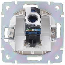 <b>Розетка</b> компьютерная накладная <b>Werkel RJ45</b>, цвет белый во ...