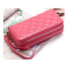 <b>Genuine Leather</b> Women Wallets Famous Brand <b>Fashion</b> Double ...