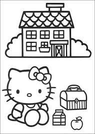 Kleurplaten Hello Kitty Printen