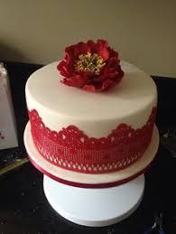 30 Delightful Ruby Anniversary Cake Ideas Images Cake Wedding