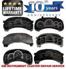 Used GM Chevy Silverado 1500 Speedometer Instrument Cluster Gauge ...