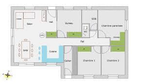 Plan De Maison Gratuit Avec 4 Chambres