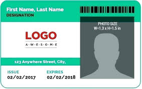 Free Id Badge Template Free Badge Template Free Id Card Template Download Virams Me