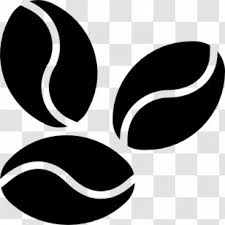 Also included is white filled png, 300dpi, and jpeg, 300dpi. The Coffee Bean Tea Leaf Black And White Coffe Been Transparent Png