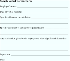employee warning forms sample final warning letter inspirational warning forms for