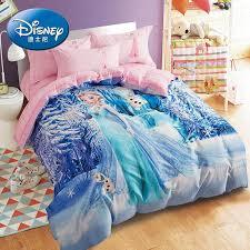 disney pure cotton cartoon three four piece set cotton elsa princess quilt cover sheet children
