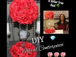 diy dollar tree red fl arrangement centerpiece kissing ball wedding decor tutorial you