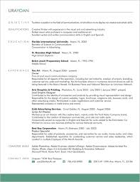 yoa creative resume contact