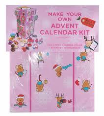 contemporary pink advent calendar kit