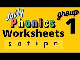 Strategies for tricky spellings and challenging puzzles for developing phonic skills are also provided. Jolly Phonics Phase 1 Group 1 Worksheet Lkg Ukg Toddlers Preschool Practice Workbook Youtube