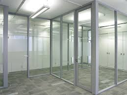glass office wall. office partition walls clear glass wall e