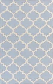 plushrugs imports paddock allets blue and white area rug with grey area rug