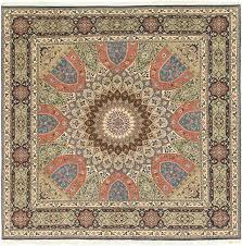 8 3 x 8 5 tabriz persian square rug