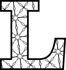Alphabet alphabet letters colorful alphabet colorful letters letters colorful vector font letter colored element text decoration elements number symbol numbers abc background decorative icon bright artistic alphabetical children cute education color literacy tape paper shape template. Large Printable Letter L Page 1 Line 17qq Com