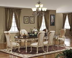 Formal Dining Room Curtains Ideas Including Picture A Farmhouse - Formal farmhouse dining room ideas
