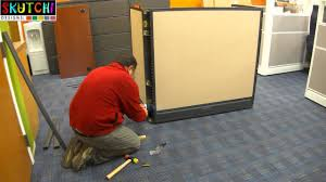 how to build a office. Office Call Center Cubicle Furniture Installation Process By SKUTCHI Designs, Inc. - YouTube How To Build A