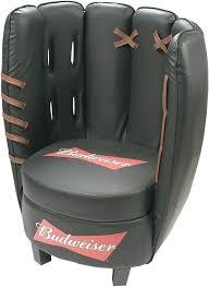 regular baseball glove chair and ottoman o5385152