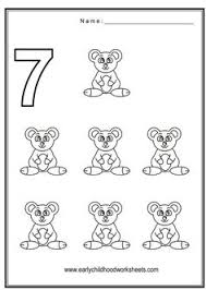Small Picture Number 7 Worksheets Coloring Number 7 Vehicles Theme