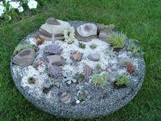 Small Picture This is a rockery I designed for a small area not being used in my