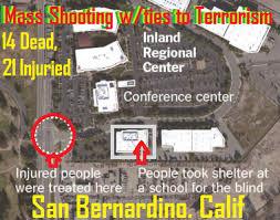San Bernardino Mass Shooting W Ties To Terrorism 14 Dead 21