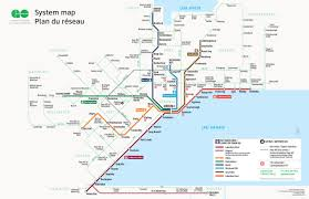official map go transit system map southern  transit maps