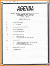 Creating An Agenda Template 24 How To Create An Agenda Attorney Letterheads 13